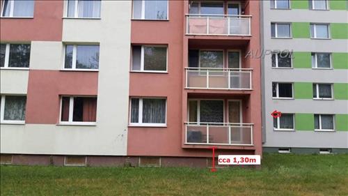 Byt 1+1 + L, 47m2, v OV, Stránského 1763, Litoměřice